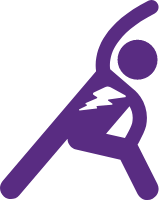 Icon of person working out