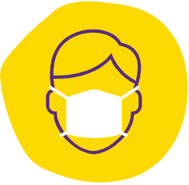 icon for team member in mask