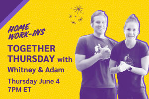 Image showing the copy Thursday 7PM ET - Together Thursday with Whitney and Adam