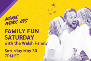 Image showing the copy Family Fun Saturday on 5/30 at 7PM ET