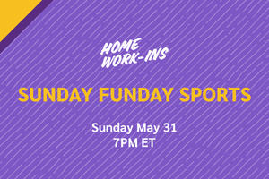 Image showing the copy Sunday Funday Sports on 5/31 at 7PM ET